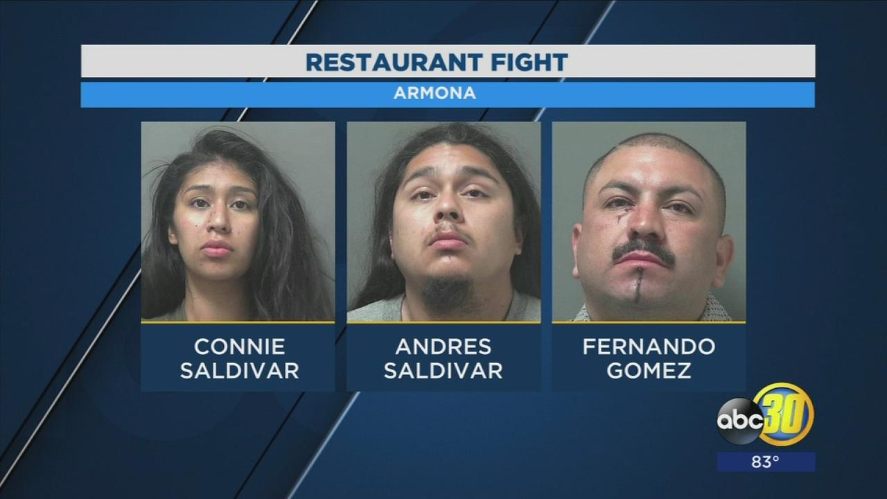Three arrested for Kings County bar fight