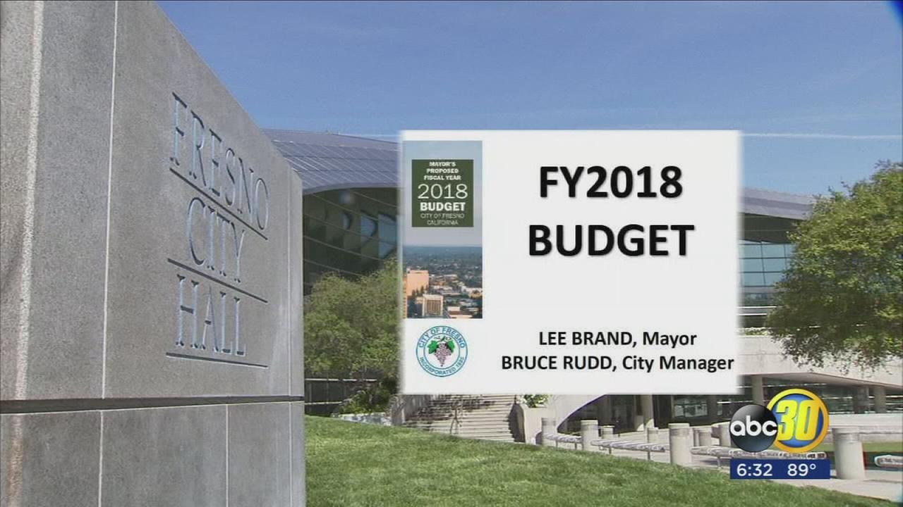 Fresno residents to see an increased police presence throughout the city thanks to new budget
