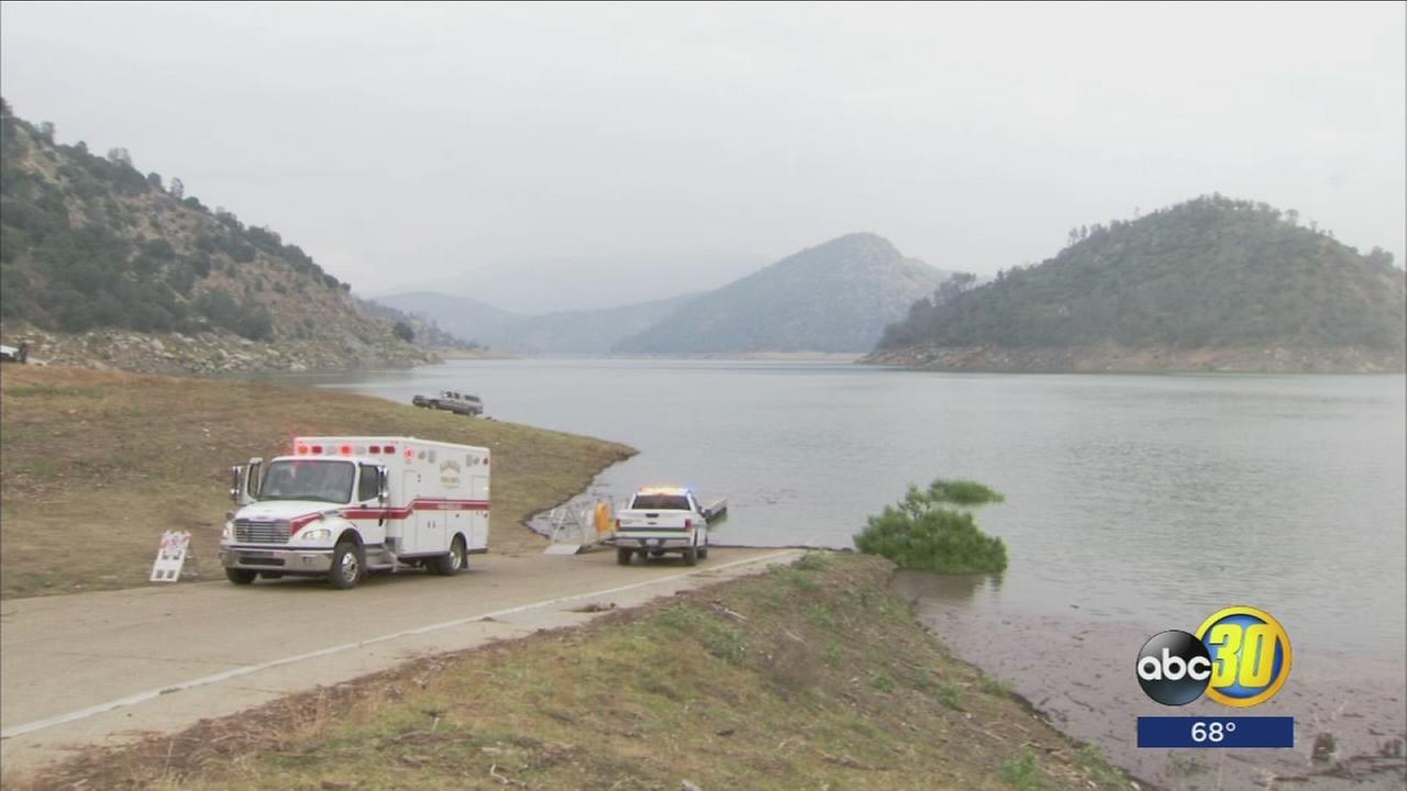 Boating accident at Pine Flat Lake leaves woman dead, husband injured