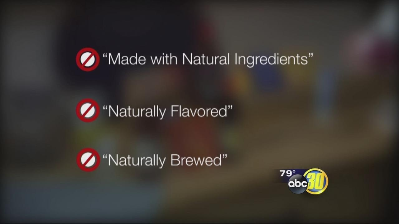 Natural foods -- not!