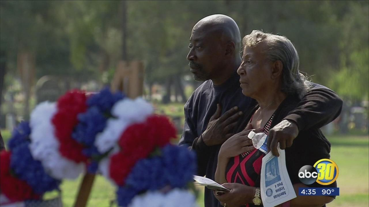 Fallen heroes honored at annual Memorial Day gathering in West Central Fresno