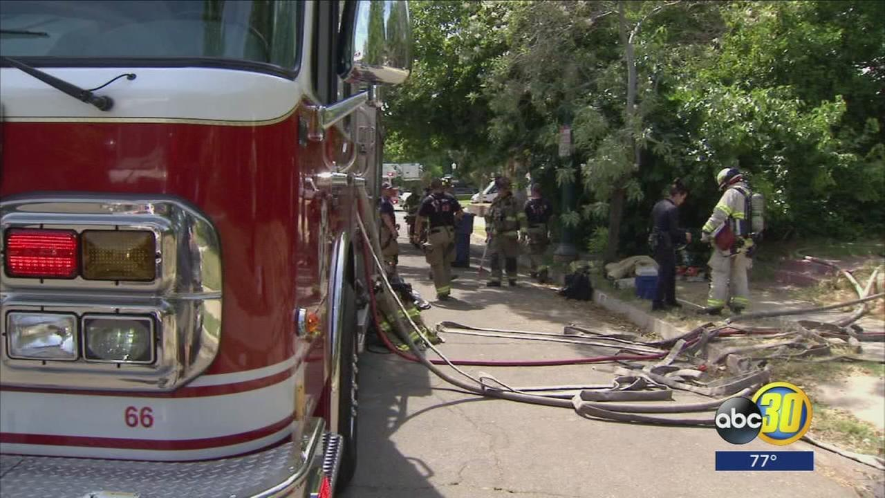 One person dead after house fire in Central Fresno
