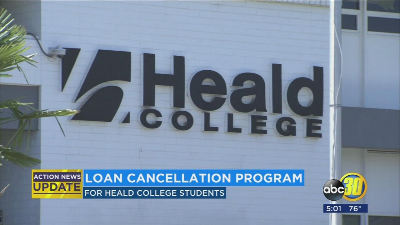 Former students of Heald College may be eligible for federal student loan cancellation