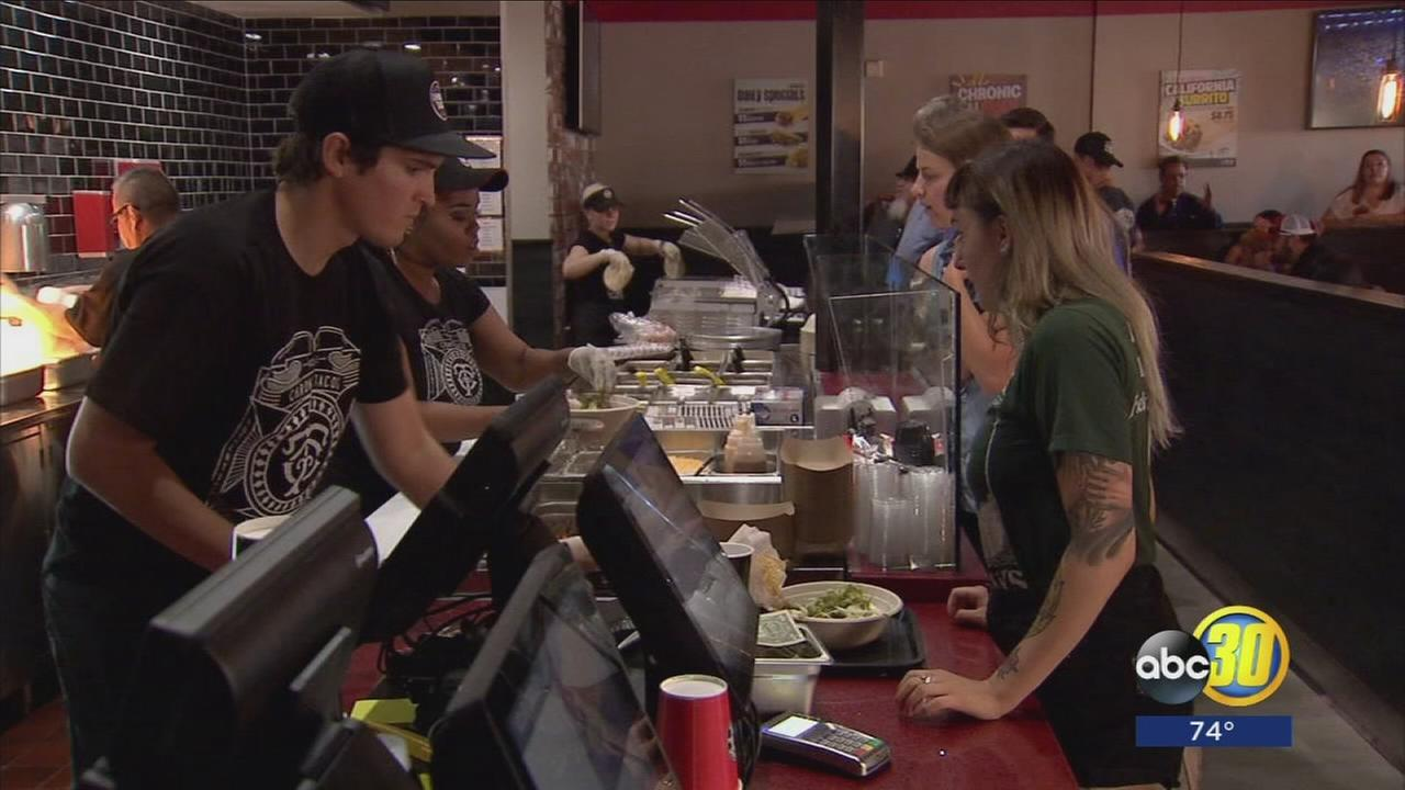 New taco shop holds soft opening month before officially opening