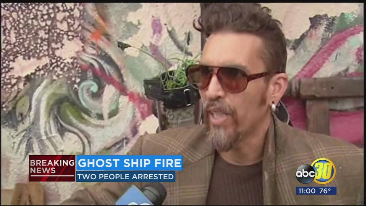 Two arrested in Ghost Ship fire investigation