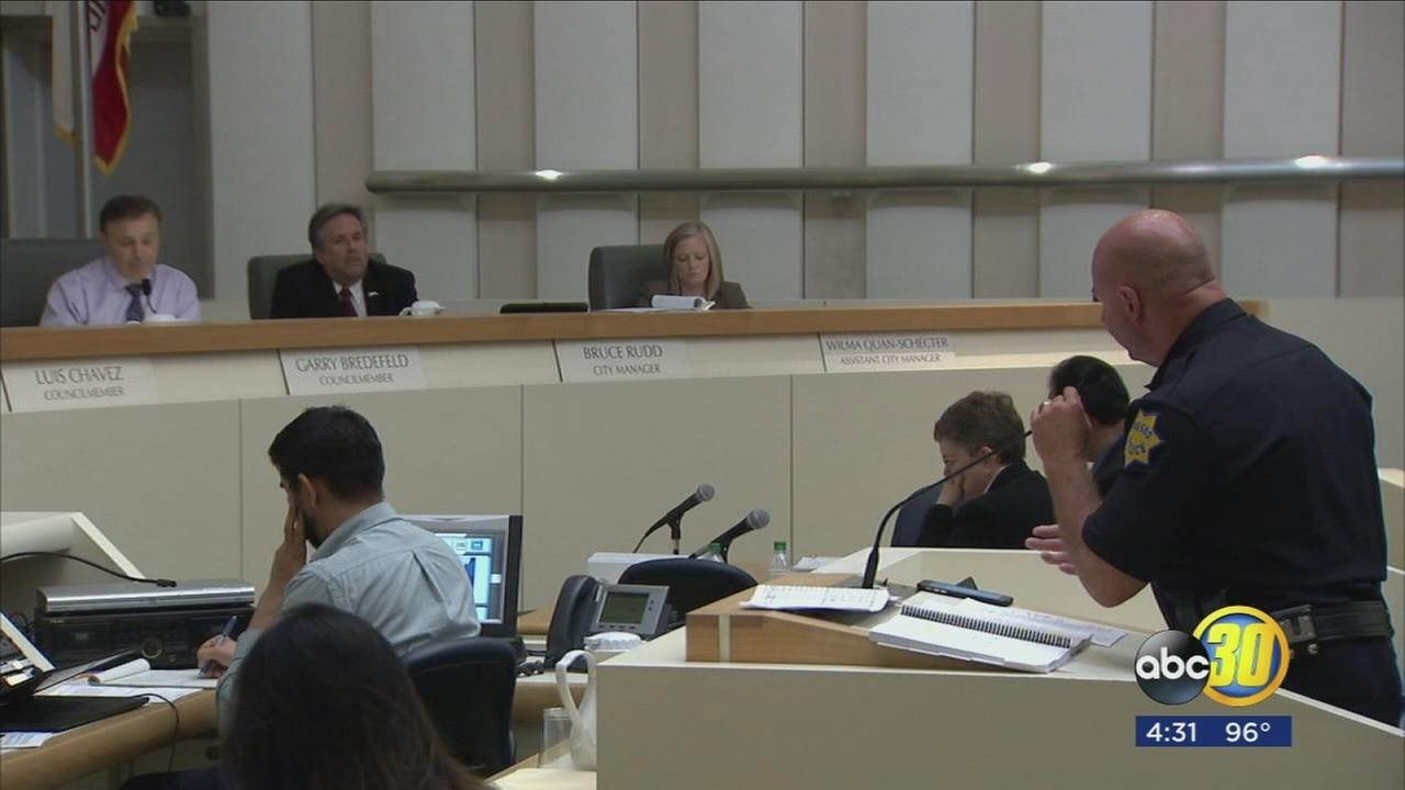 Fresno City Council discusses budget as city is having a tough time keeping police officers