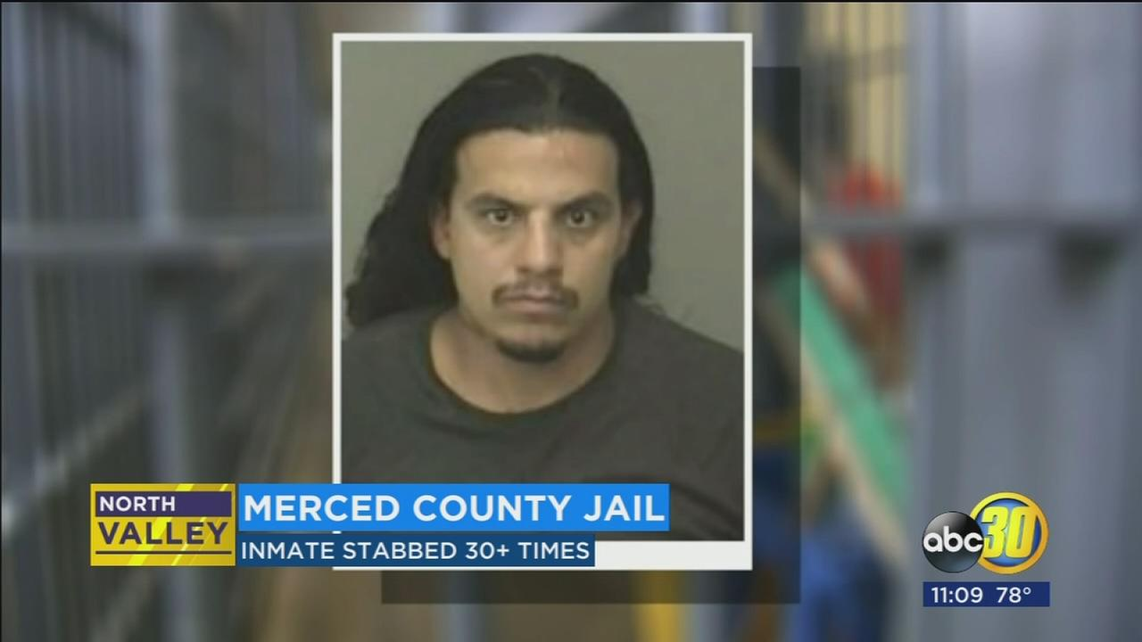 Merced County inmate hospitalized after stabbing