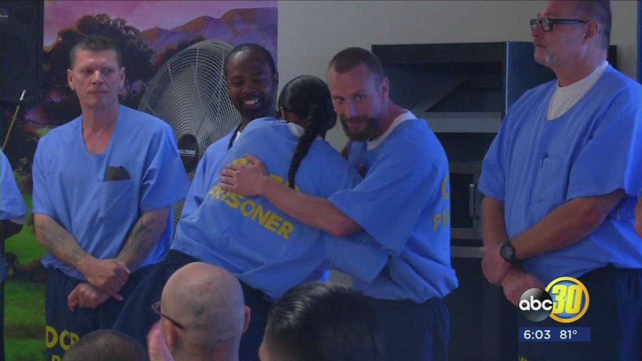 Corcoran prison officials highlight success of new trauma-based program for inmates