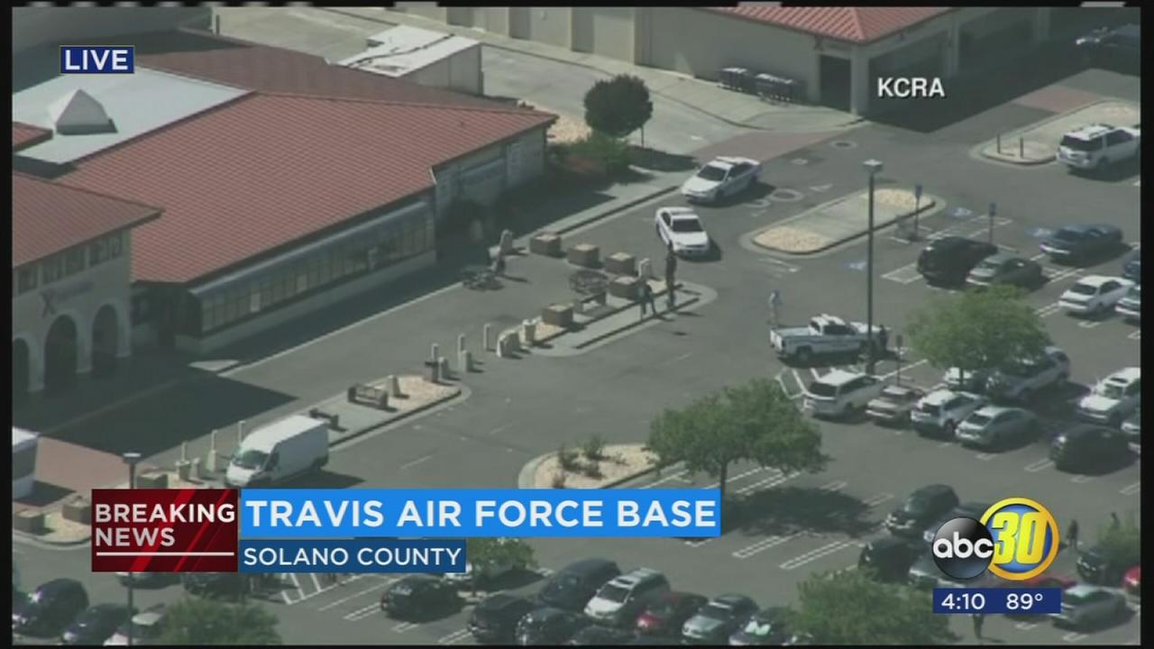 Travis Air Force Base reports lockdown due to security incident