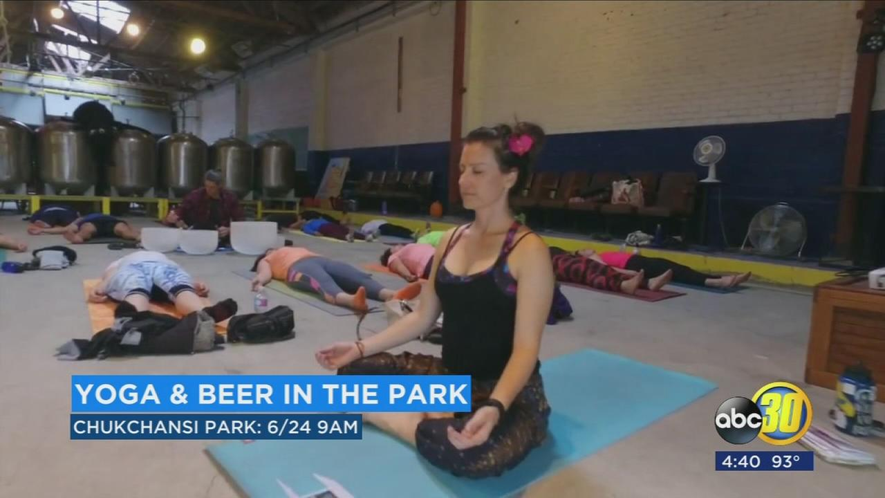 Yoga and Beer at the Park event to bring yogis to Chukchansi Park