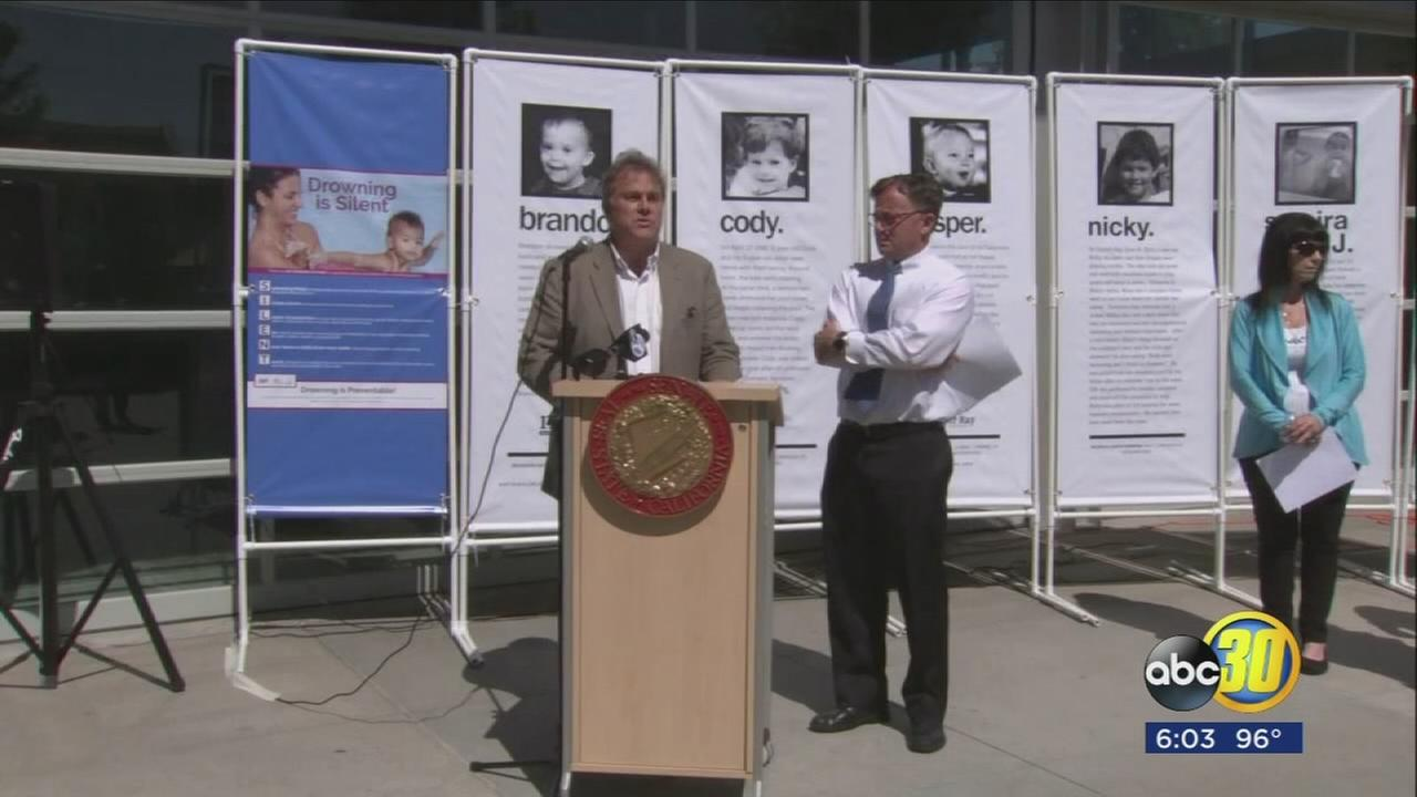 Legislation aimed at reducing childhood drownings introduced in the California legislature