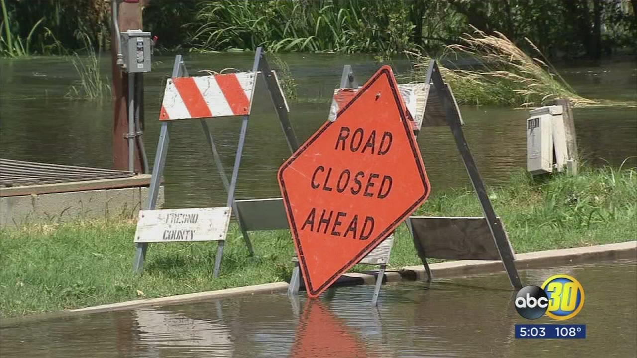 As weather heats up, flooding problems get worse along Kings River