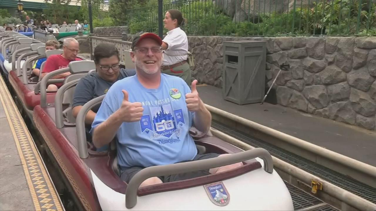 California Resident Jeff Reitz visits Disneyland Resort For 2,000th consecutive day