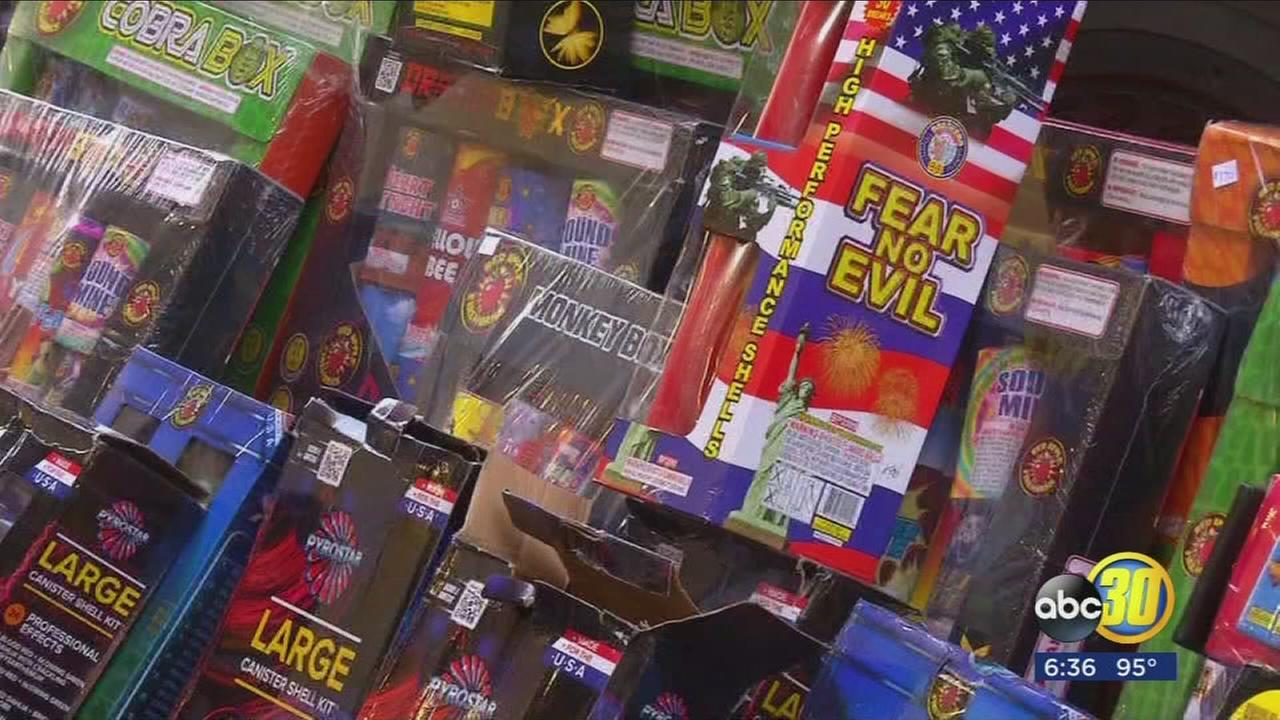 Visalia police and fire make large illegal fireworks bust ...