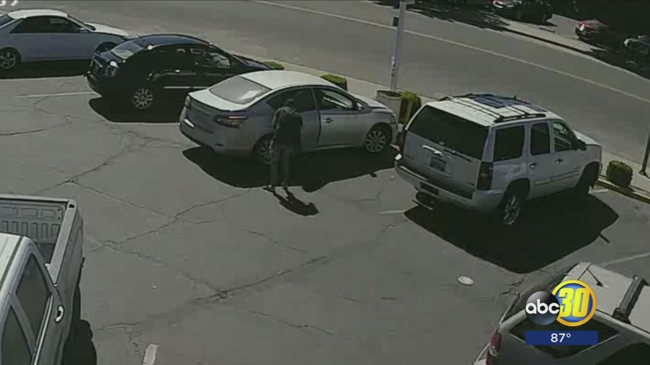 Surveillance video captures possible kidnapping attempt in Caruthers
