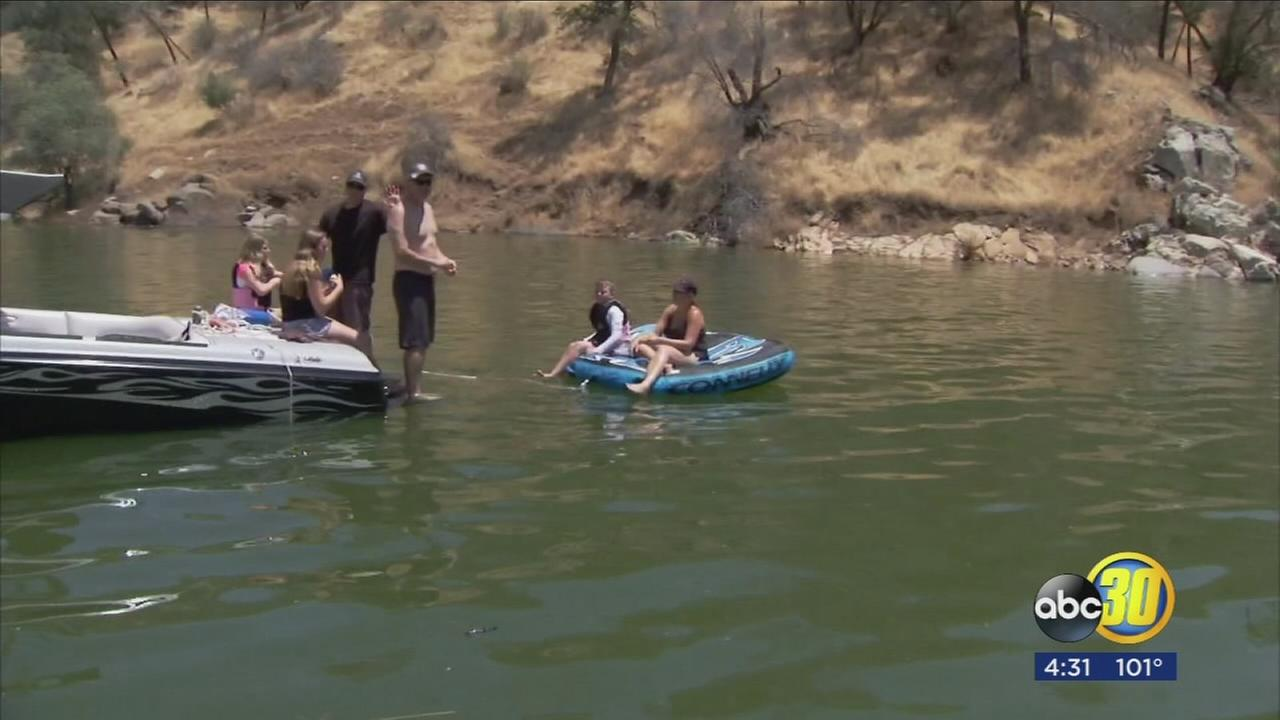 Many in the Valley celebrating the 4th while staying cool at Millerton Lake