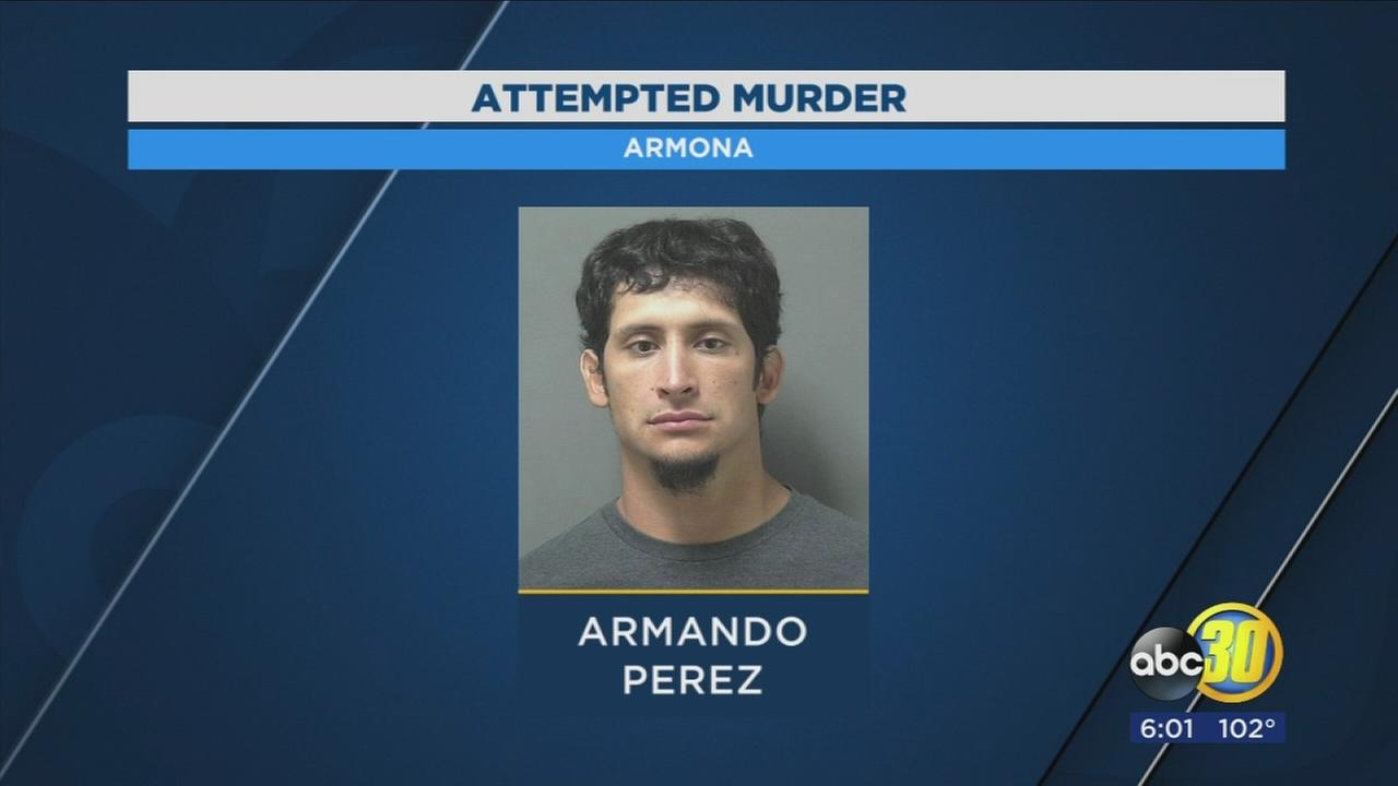Suspect arrested after allegedly beating man into a coma in Armona
