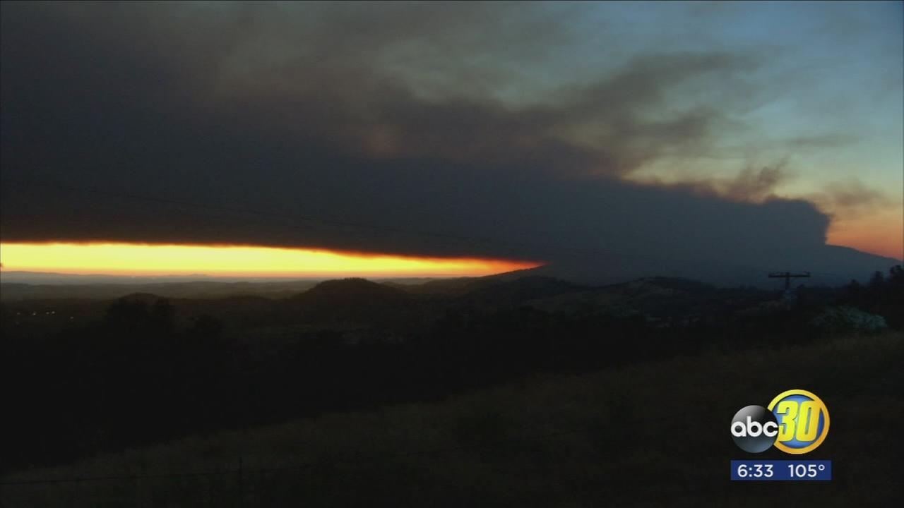 Heat and wildfires making poor Valley air quality even worse