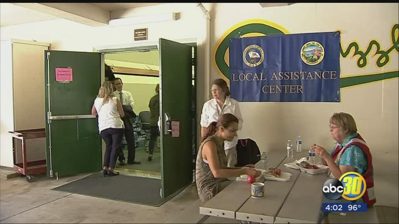 Local, state, and federal agencies hold Assistance Fair in Mariposa for those affected by the Detwiler Fire