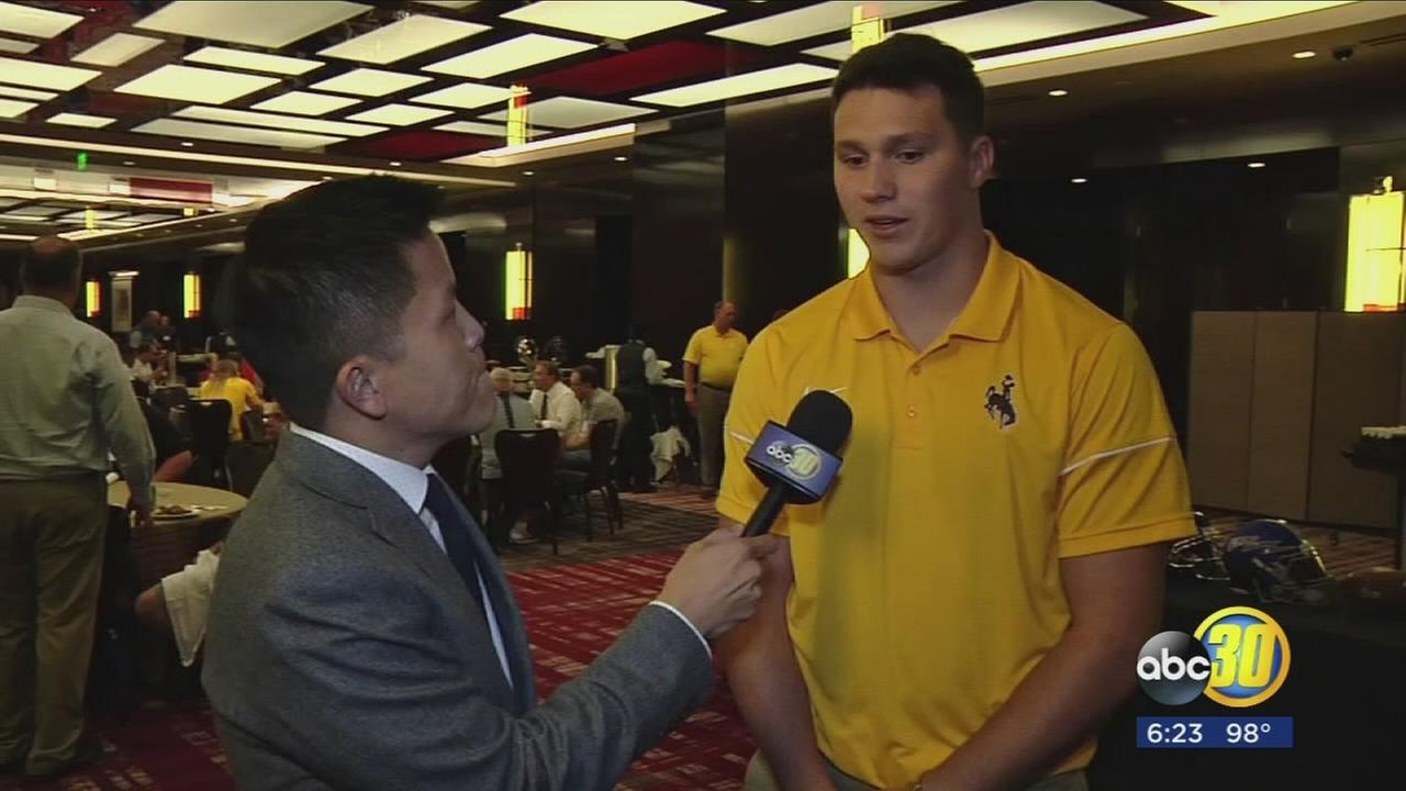 VIDEO: Josh Allen 1-on-1 from Mountain West Football Media Summit