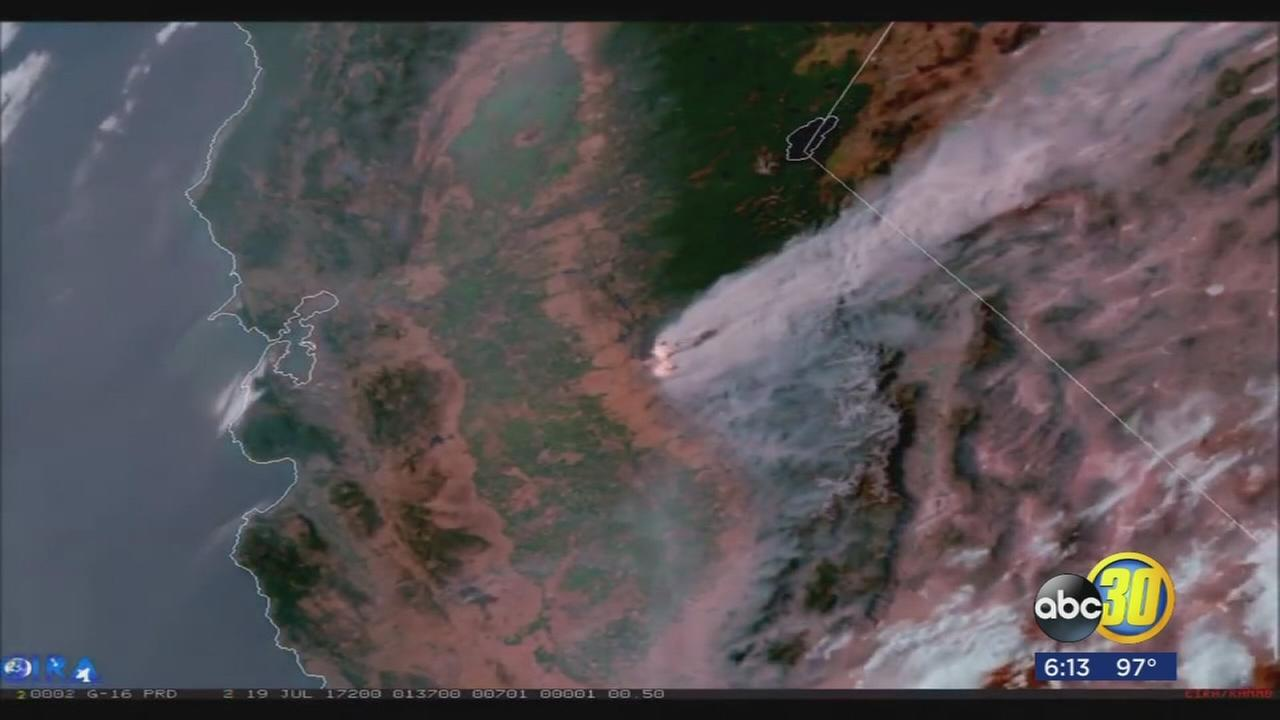 National Weather Service satellite gives local firefighters an edge during wildfire season