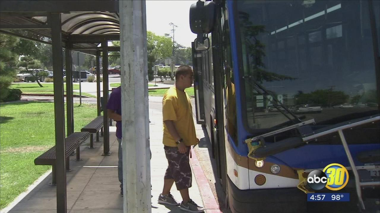 Fresno City College students will be able to take free FAX bus rides once fall semester begins