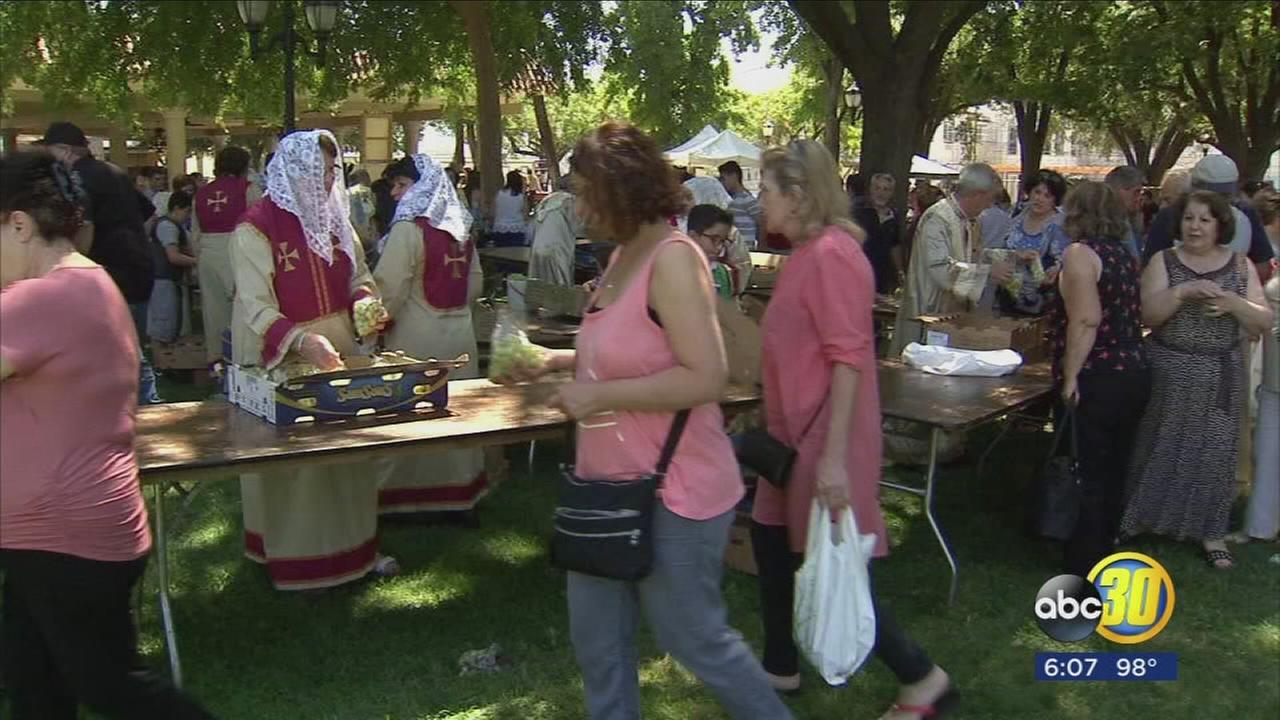Local Armenian churches celebrate blessing of the grapes