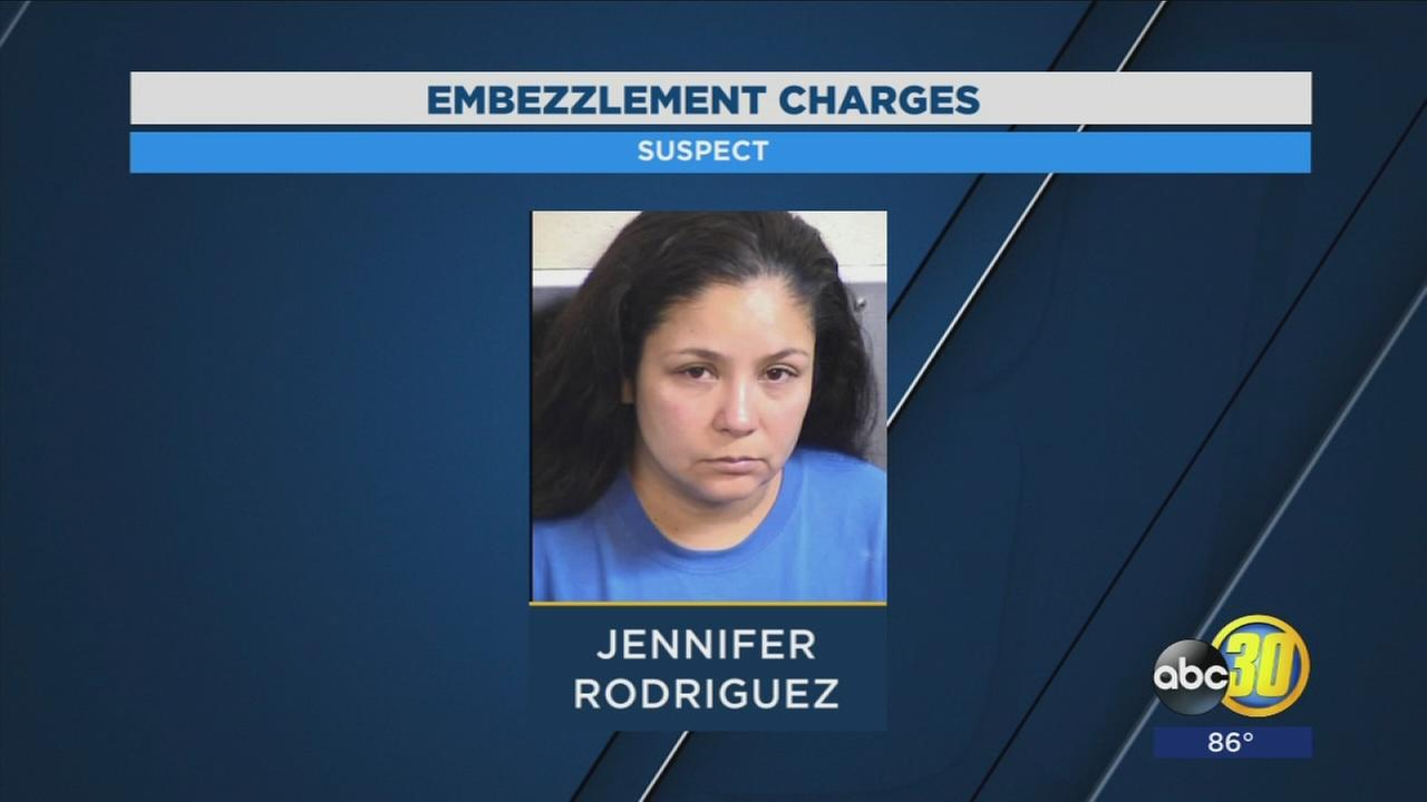 Authorities arrest Fresno Unified employee who is accused of embezzling thousands of dollars