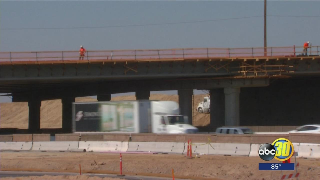 Good news for Fresno drivers as road closures due to High Speed Rail construction cause delays