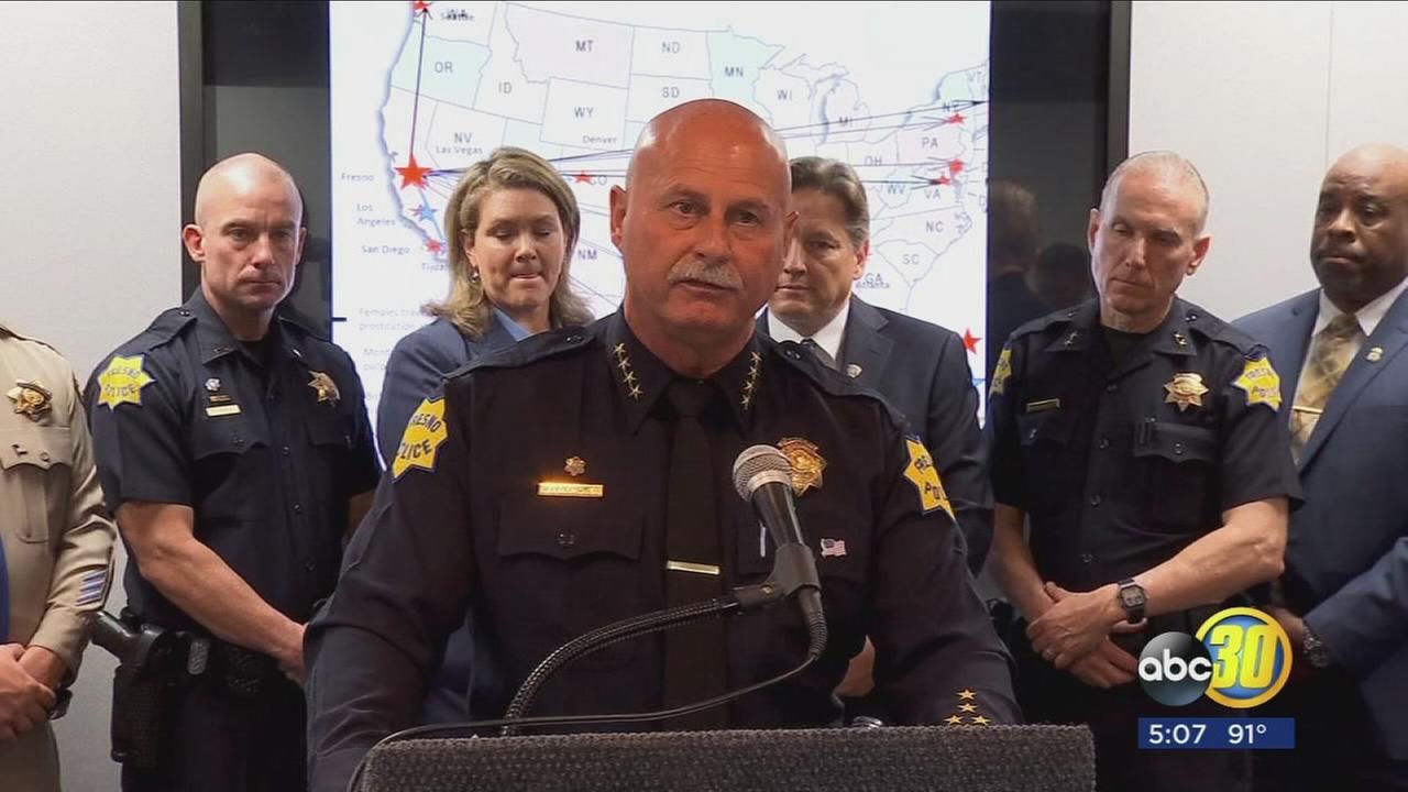 Fresno Police gang crackdown busts prostitution ring, dozens arrested