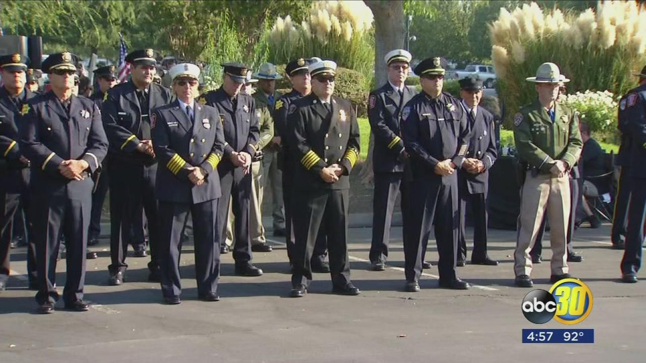 Clovis business holds annual 9/11 memorial ceremony to pay tribute to the lives lost