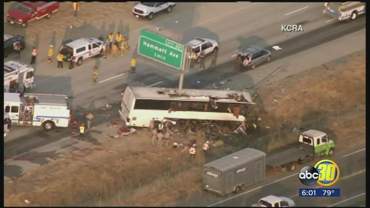 Bus driver involved in deadly crash near Livingston pleads not guilty
