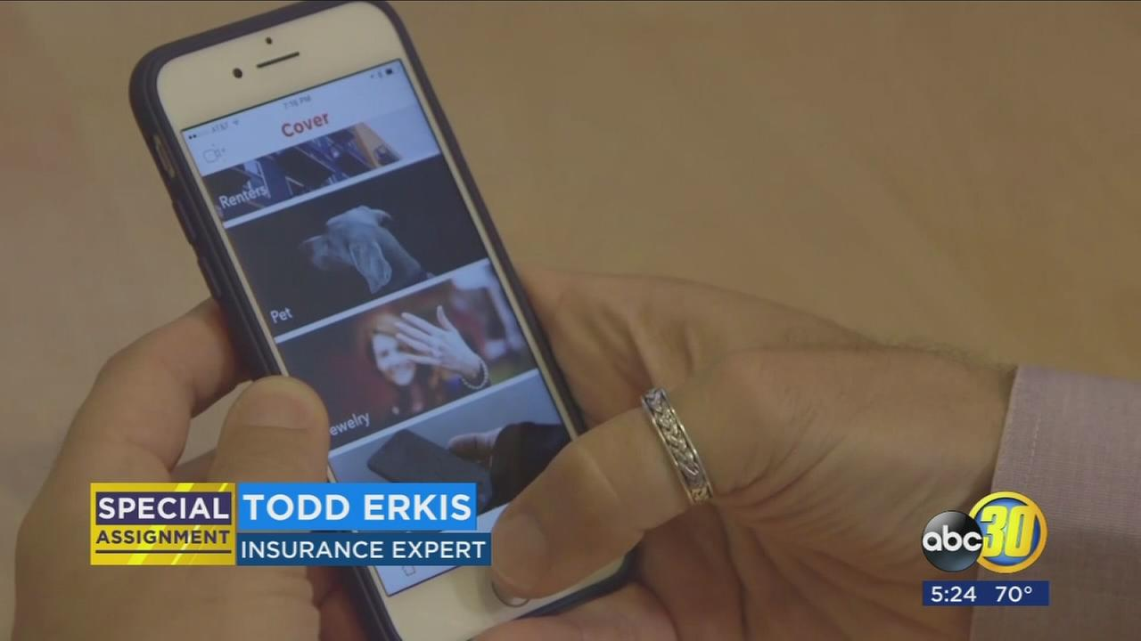 New app allows users to customize insurance needs