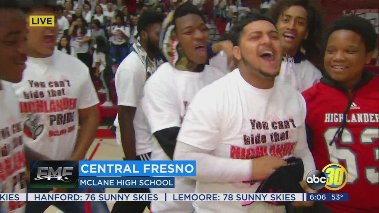 Friday Morning Football: Experiencing the Highland Hype at McLane High