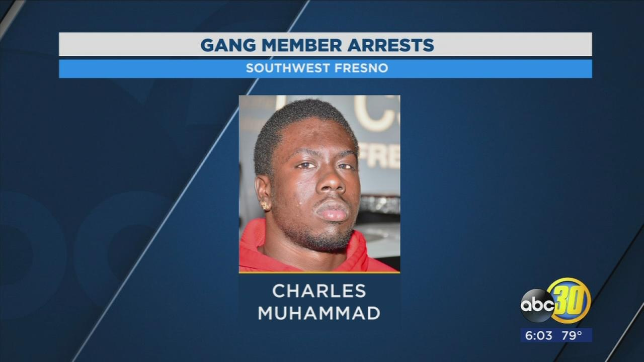 Police: Two gang members arrested in Southwest Fresno