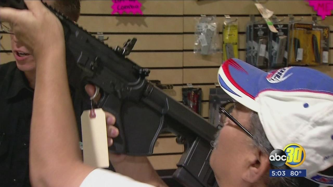 SurveyUSA guns poll shows how Valley compares to rest of California