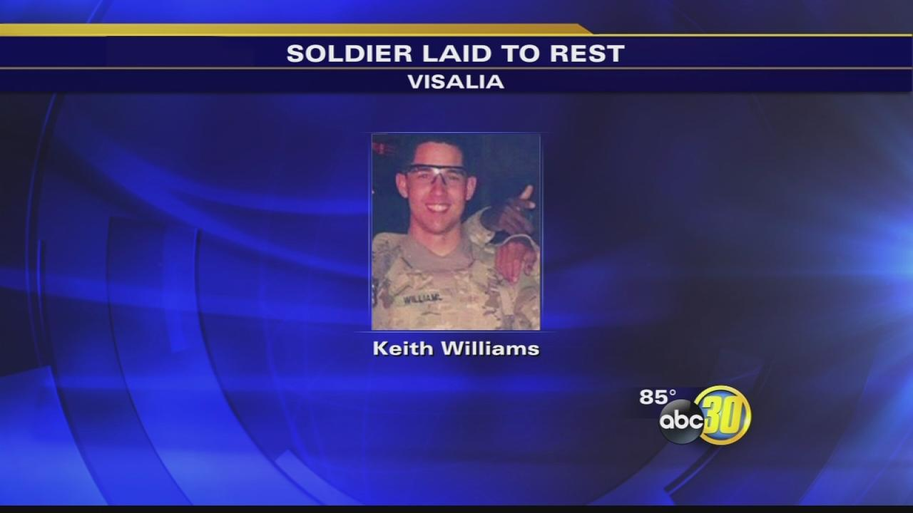 Fallen soldier laid to rest in Visalia