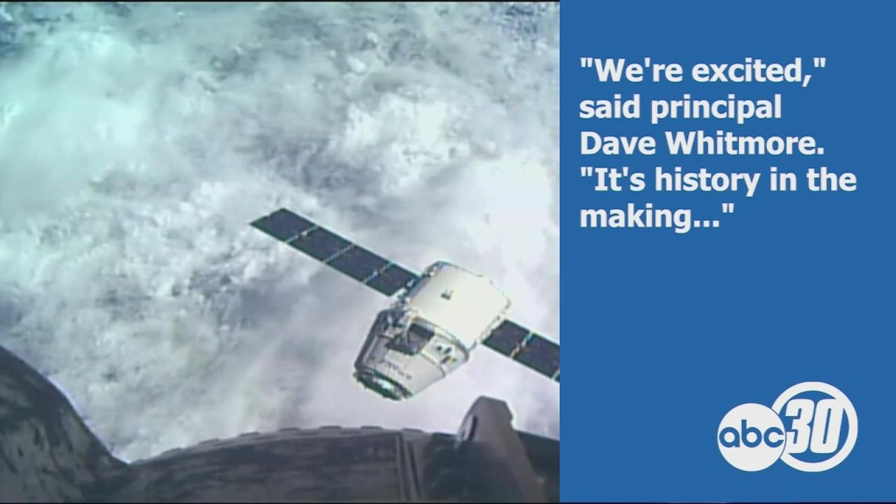 Students in Corcoran compete to send science projects to space