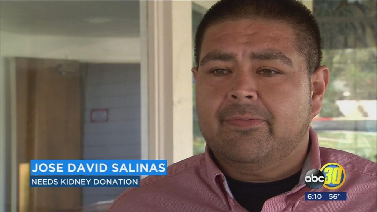 A Valley man who has motivated people to save lives is now looking for someone to save his.