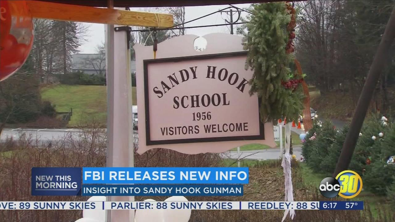 FBI releases new information about man who committed Sandy Hook Massacre