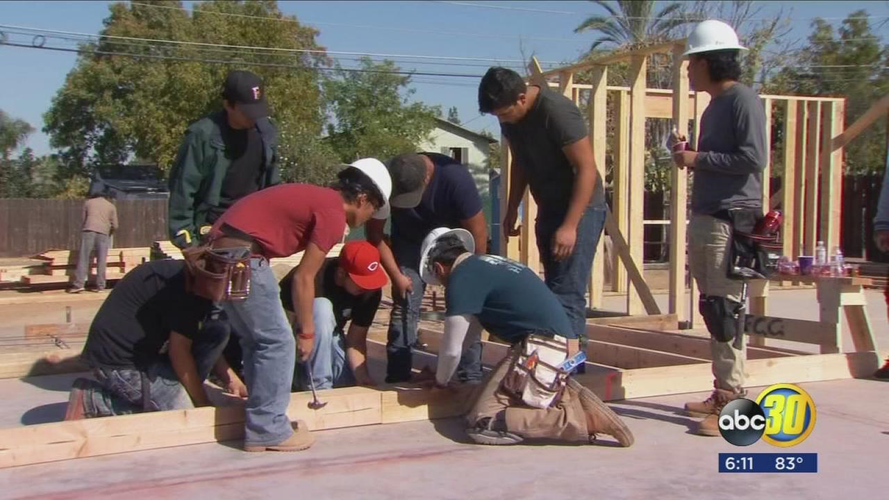 Lucky family to get a new home in partnership between Habitat for Humanity and FCC