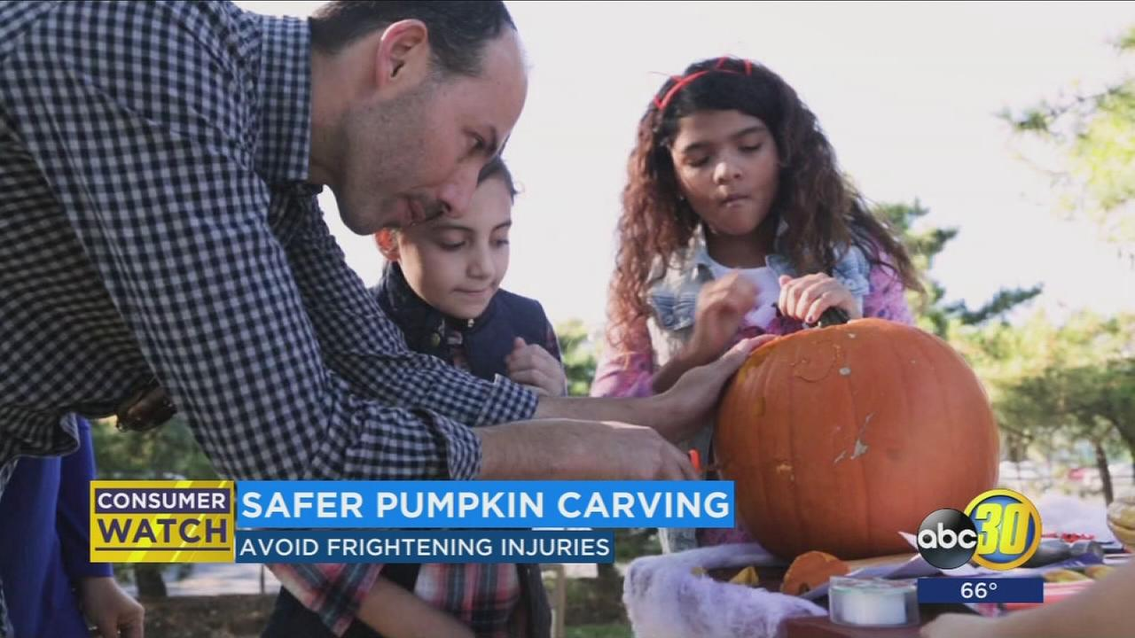 Safer pumpkin carving tips to avoid frightening injuries
