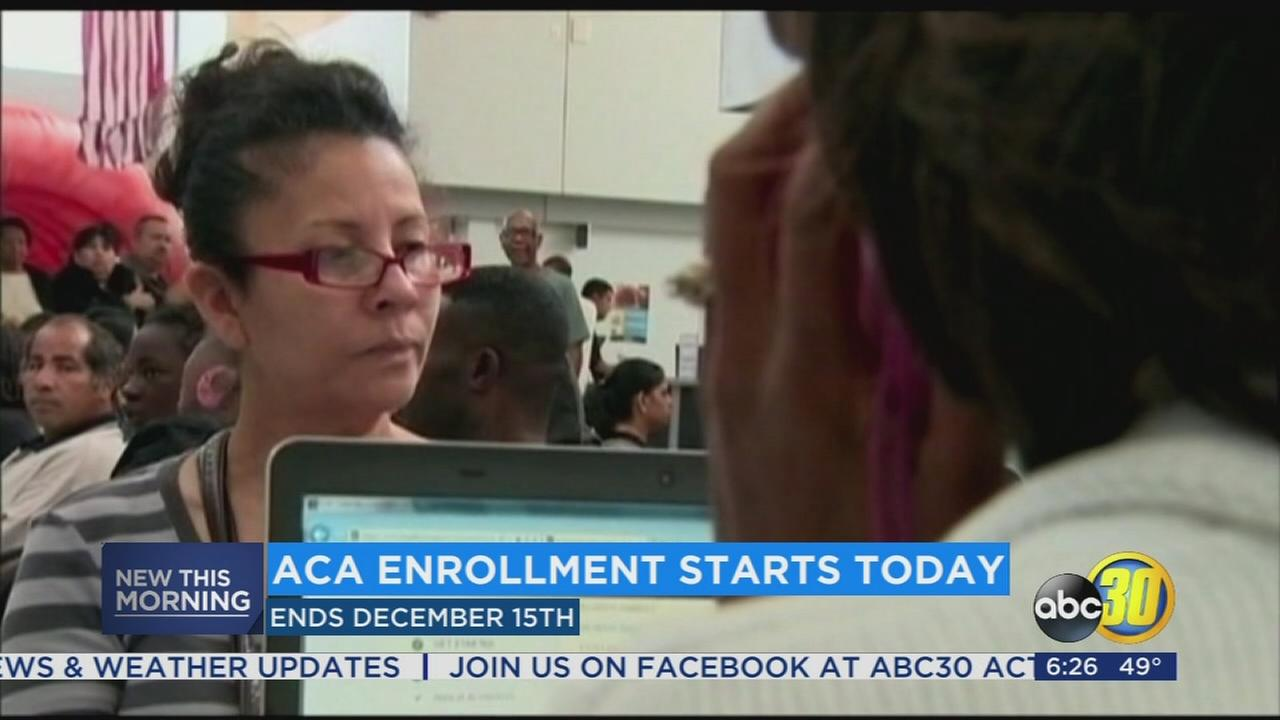 ACA and Covered California enrollment opens