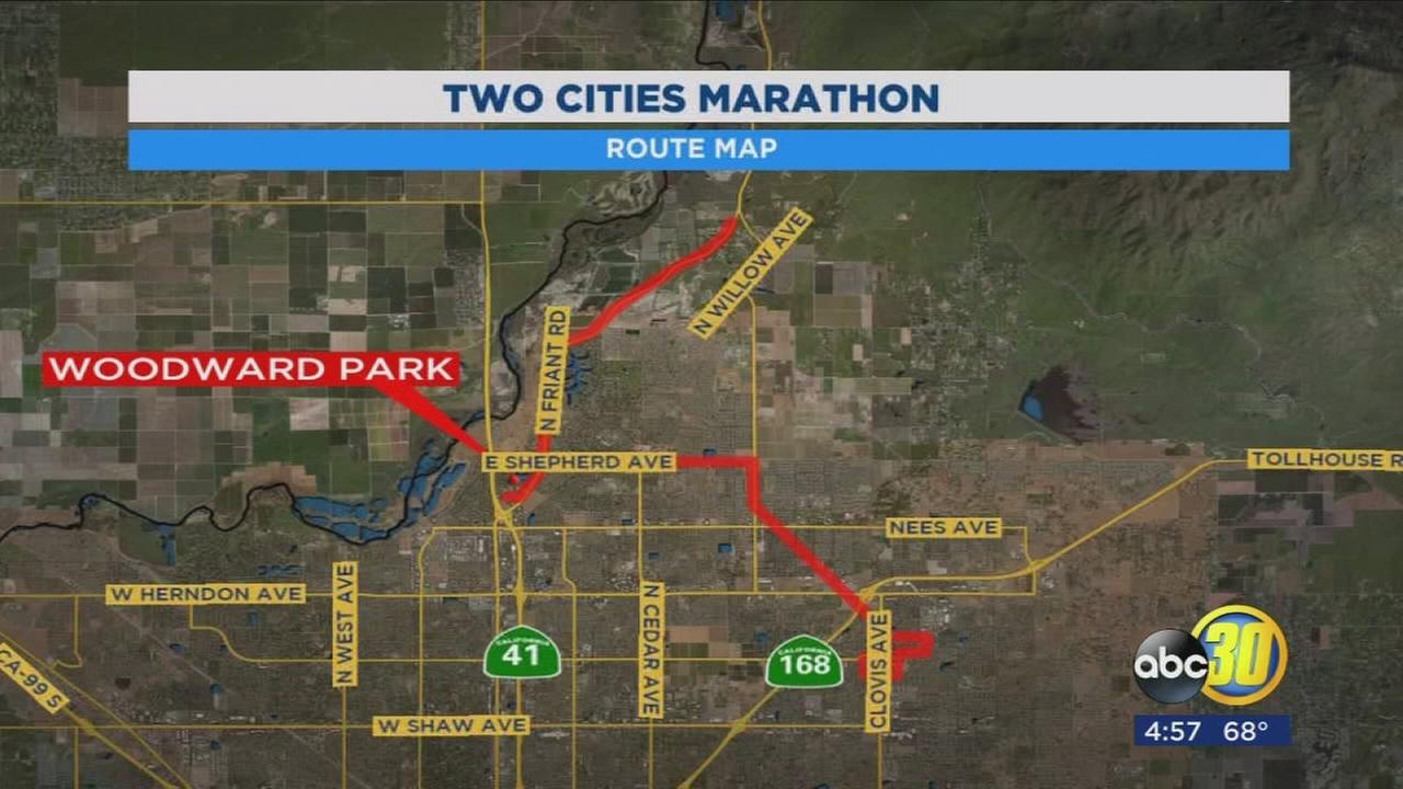 10th annual Two Cities Marathon begins soon