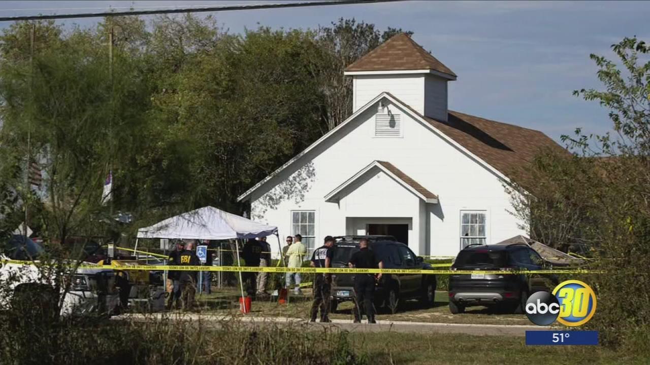 Gunman opens fire in church near San Antonio, killing 26 people