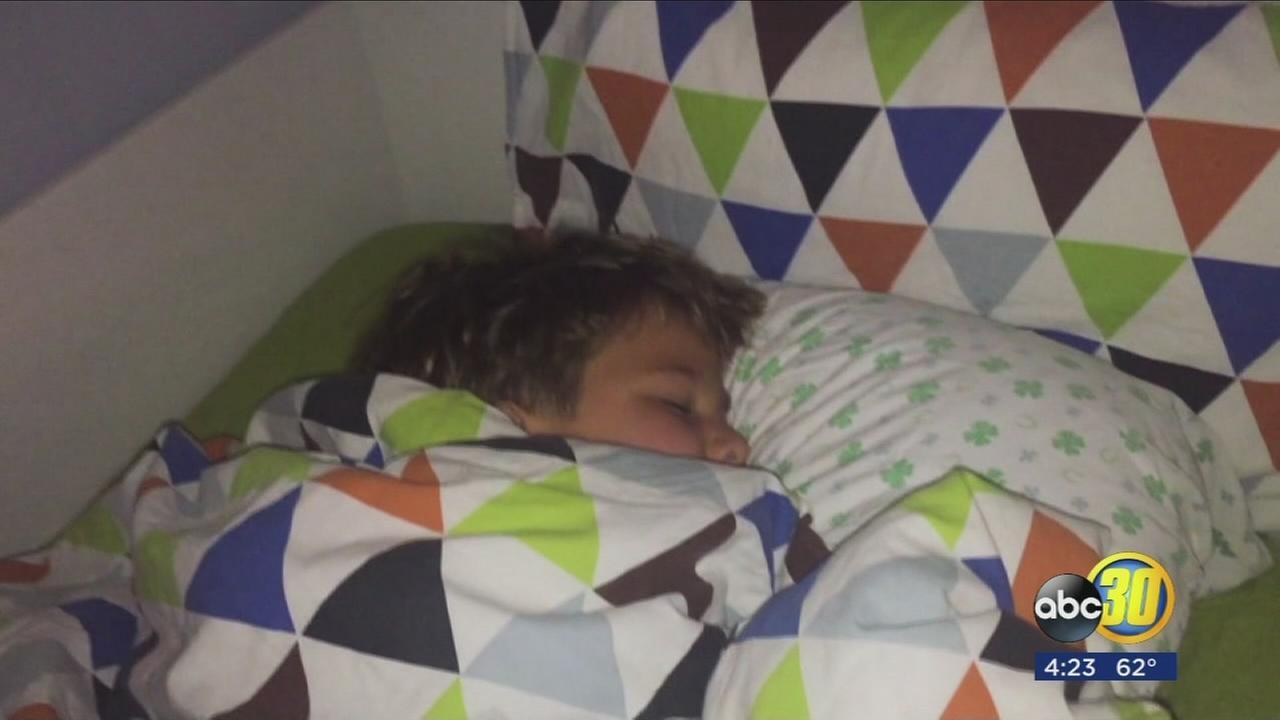 Health risks for sleep deprived kids