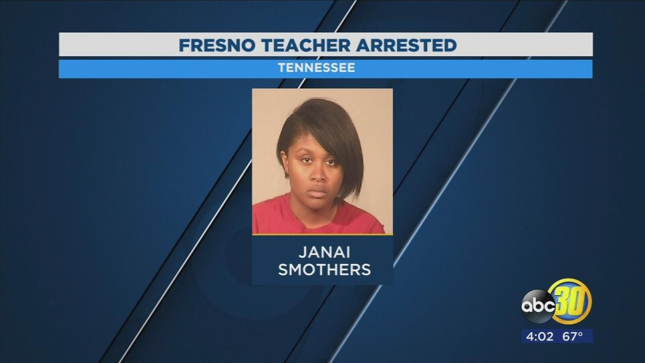Fresno Unified teacher arrested on sexual battery indictment out of Tennessee