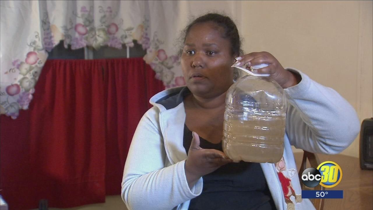 Teviston residents plagued with dirty water unsure of what to do after being told it's unsafe to drink