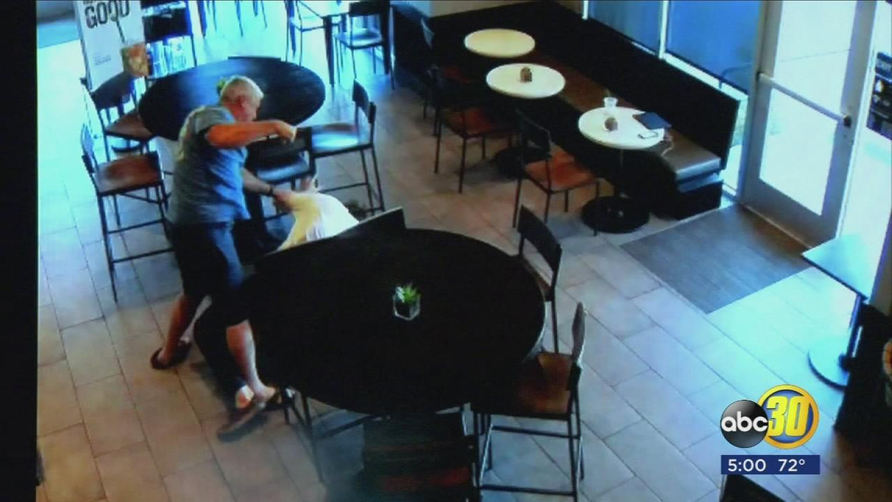 Good Samaritan who broke up Fresno Starbucks robbery tells his story publicly for first time