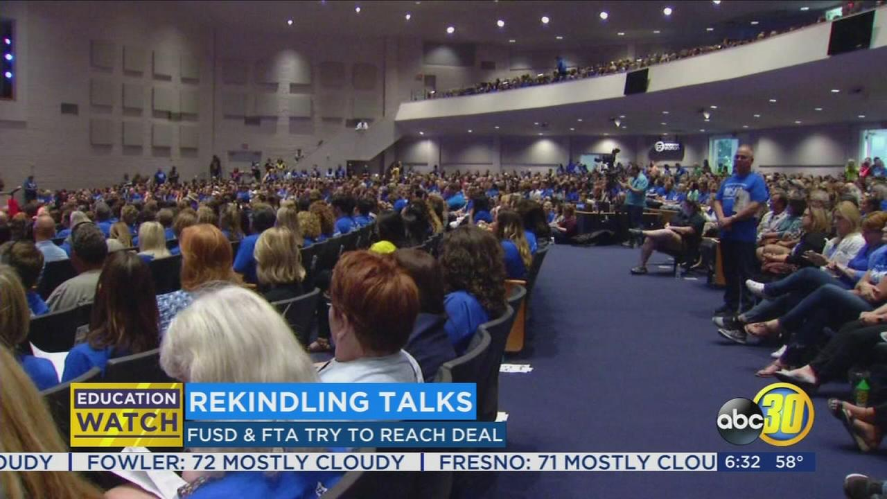 FUSD and FTA move into fourth day of talks to prevent strike